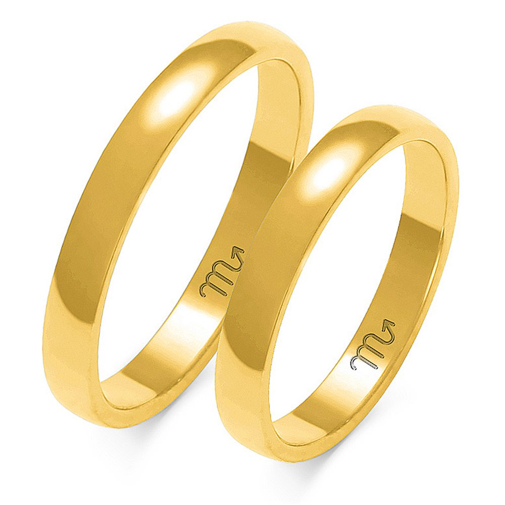 Obrączki ślubne a 101
