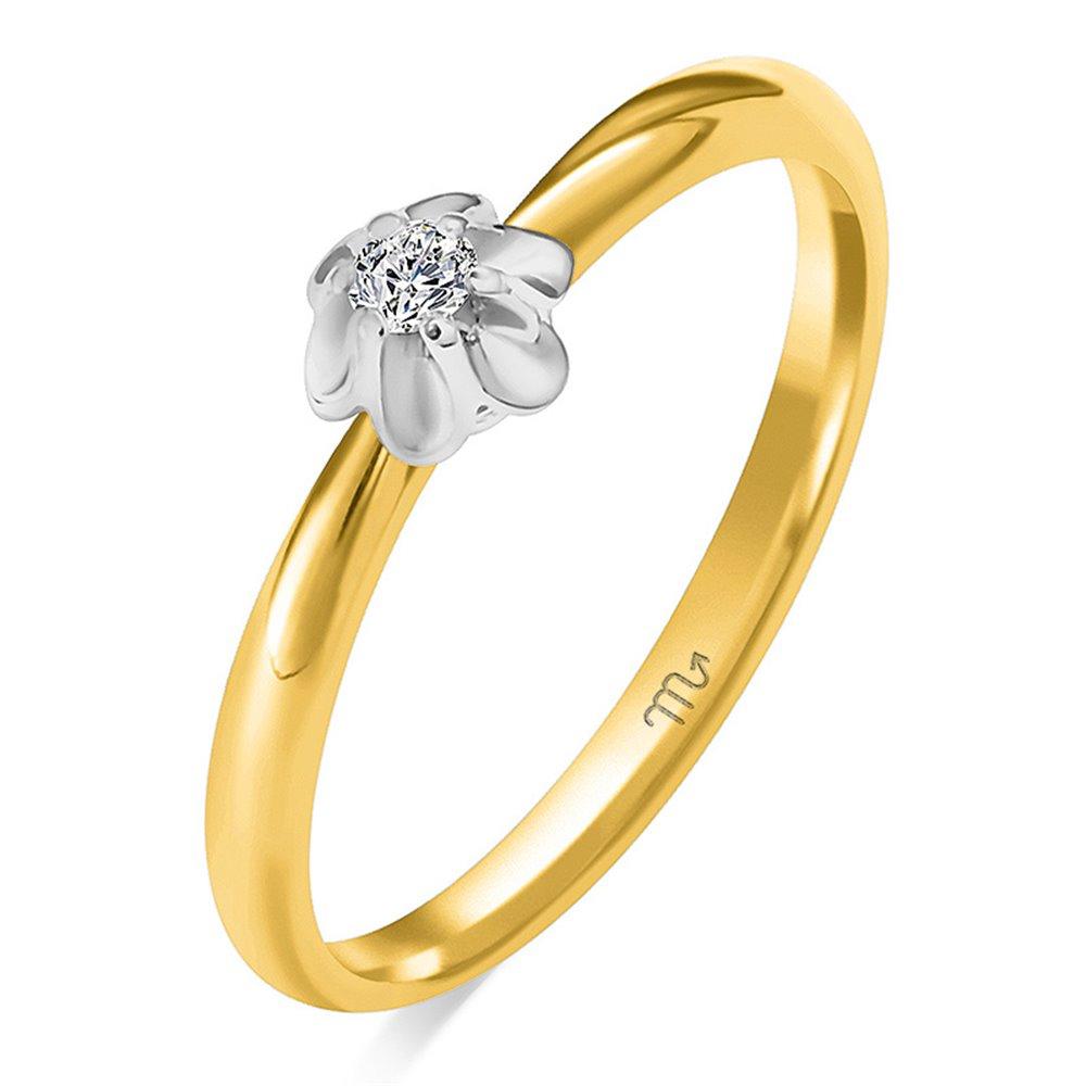 Pierścionek zaręczynowy z diamentem P Z 97