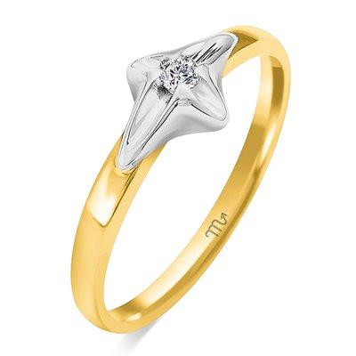 Pierścionek zaręczynowy z diamentem P Z 90