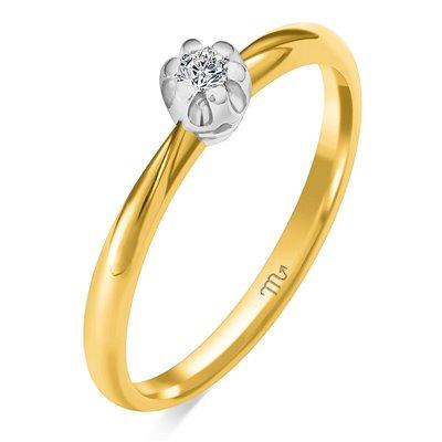 Pierścionek zaręczynowy z diamentem P Z 94
