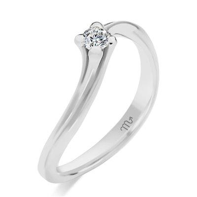 Pierścionek zaręczynowy z diamentem P Z 24