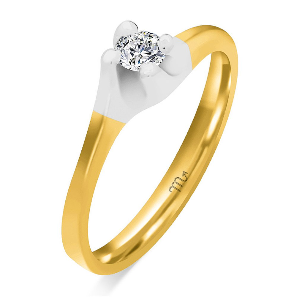 Pierścionek zaręczynowy z diamentem P Z 27