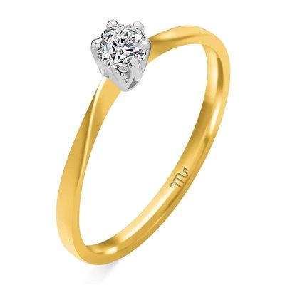 Pierścionek  zaręczynowy z  diamentem  P Z 46