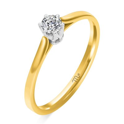 Pierścionek  zaręczynowy z diamentem  P Z  49