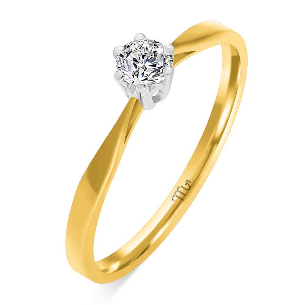 Pierścionek  zaręczynowy z diamentem  P Z 50