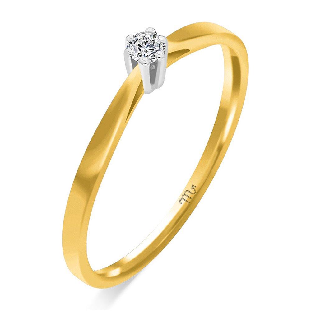 Pierścionek  zaręczynowy z diamentem  P Z 55