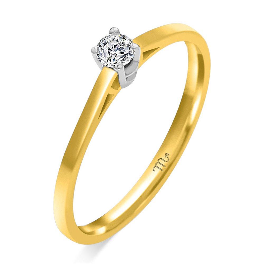 Pierścionek  zaręczynowy  z diamentem  P Z 58