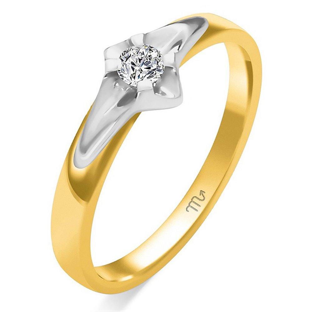 Pierścionek zaręczynowy z diamentem  P Z 66