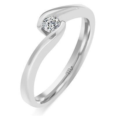 Pierścionek  zaręczynowy z diamentem  P Z 68