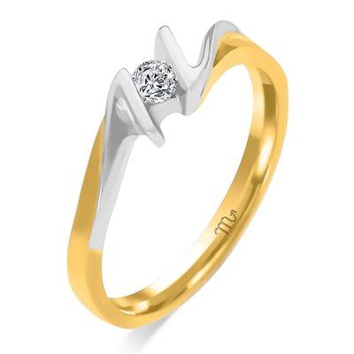 Pierścionek  zaręczynowy z diamentem  P Z 69