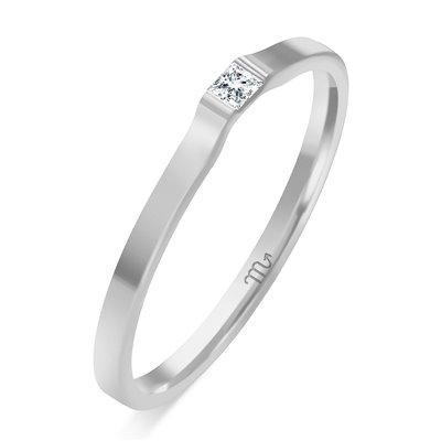Pierścionek  zaręczynowy z diamentem  P Z 71