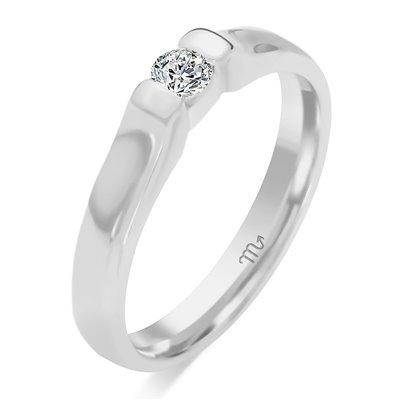 Pierścionek  zaręczynowy z diamentem  P Z 73