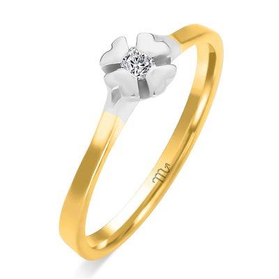 Pierścionek  zaręczynowy z diamentem  P Z 74