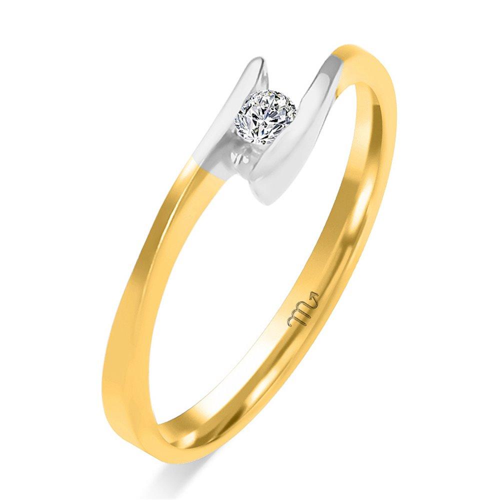 Pierścionek  zaręczynowy z diamentem  P Z 75