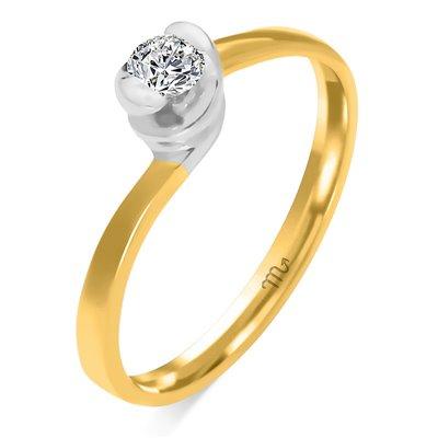 Pierścionek  zaręczynowy z diamentem  P Z 76