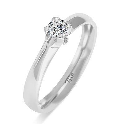Pierścionek  zaręczynowy z diamentem  P Z 85