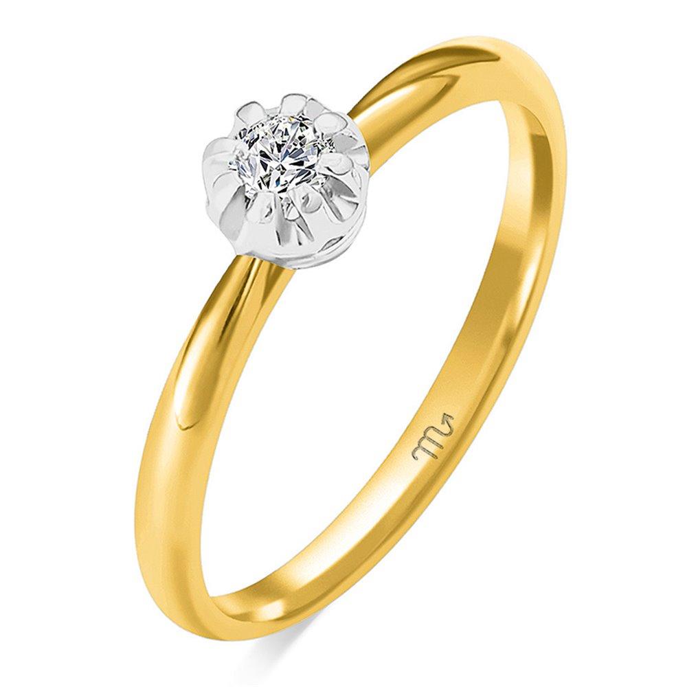 Pierścionek  zaręczynowy z diamentem  P Z 95