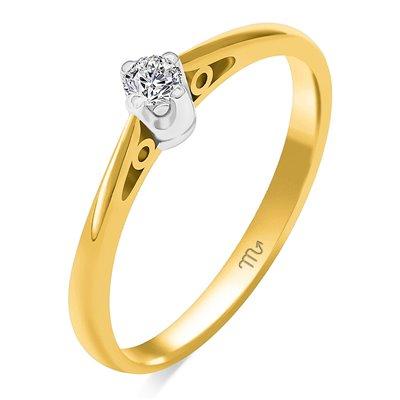 Pierścionek  zaręczynowy z diamentem  P Z 109