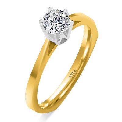 Pierścionek  zaręczynowy z diamentem  P Z 10