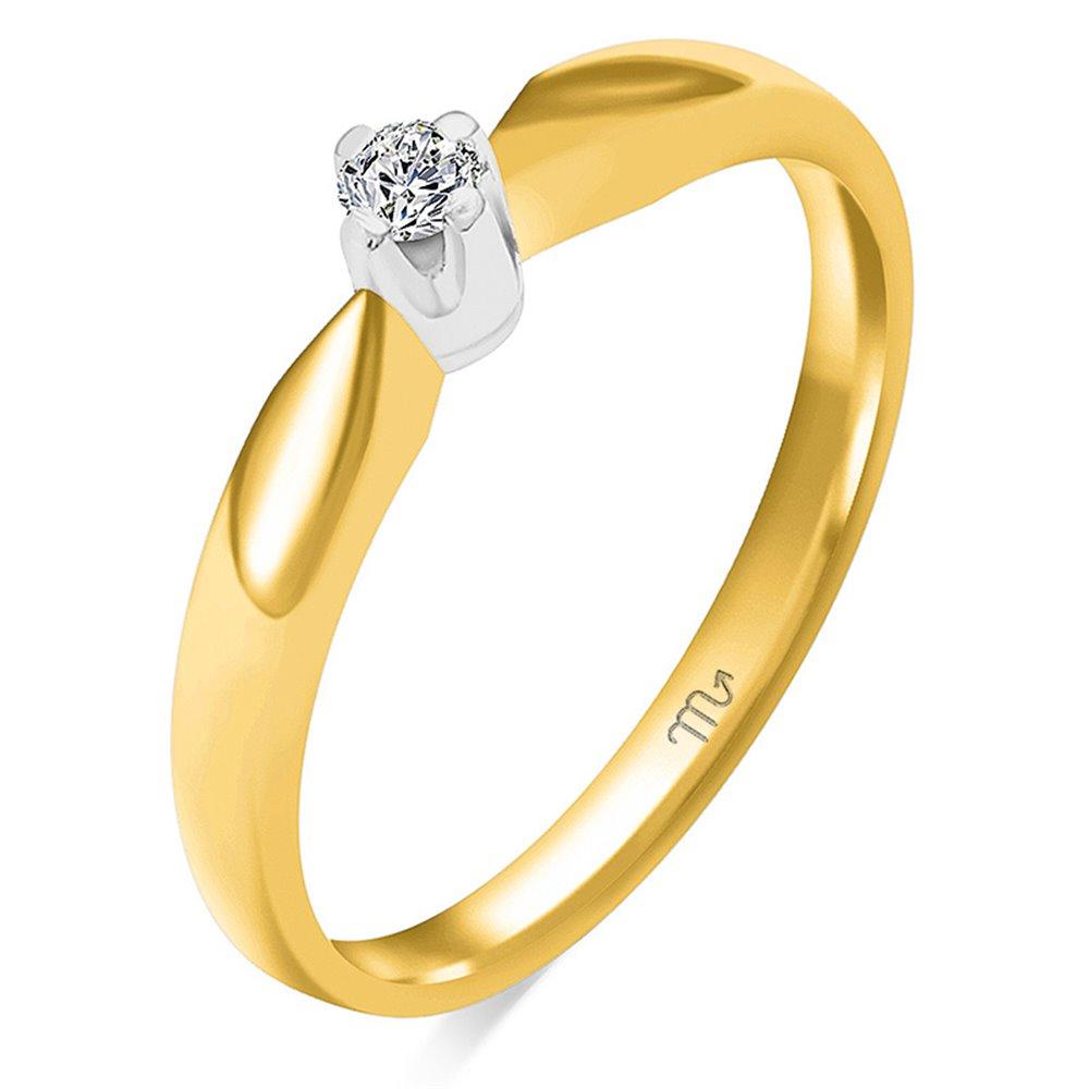 Pierścionek  zaręczynowy z diamentem  P Z 107