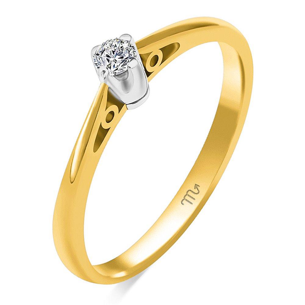 Pierścionek  zaręczynowy z diamentem  P Z 108