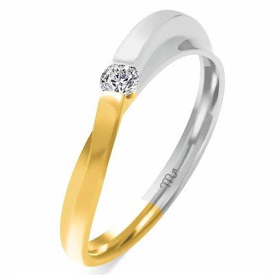 Pierścionek  zaręczynowy z diamentem  P Z 67
