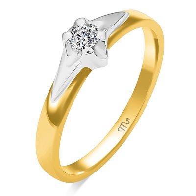 Pierścionek  zaręczynowy z diamentem  P Z 92